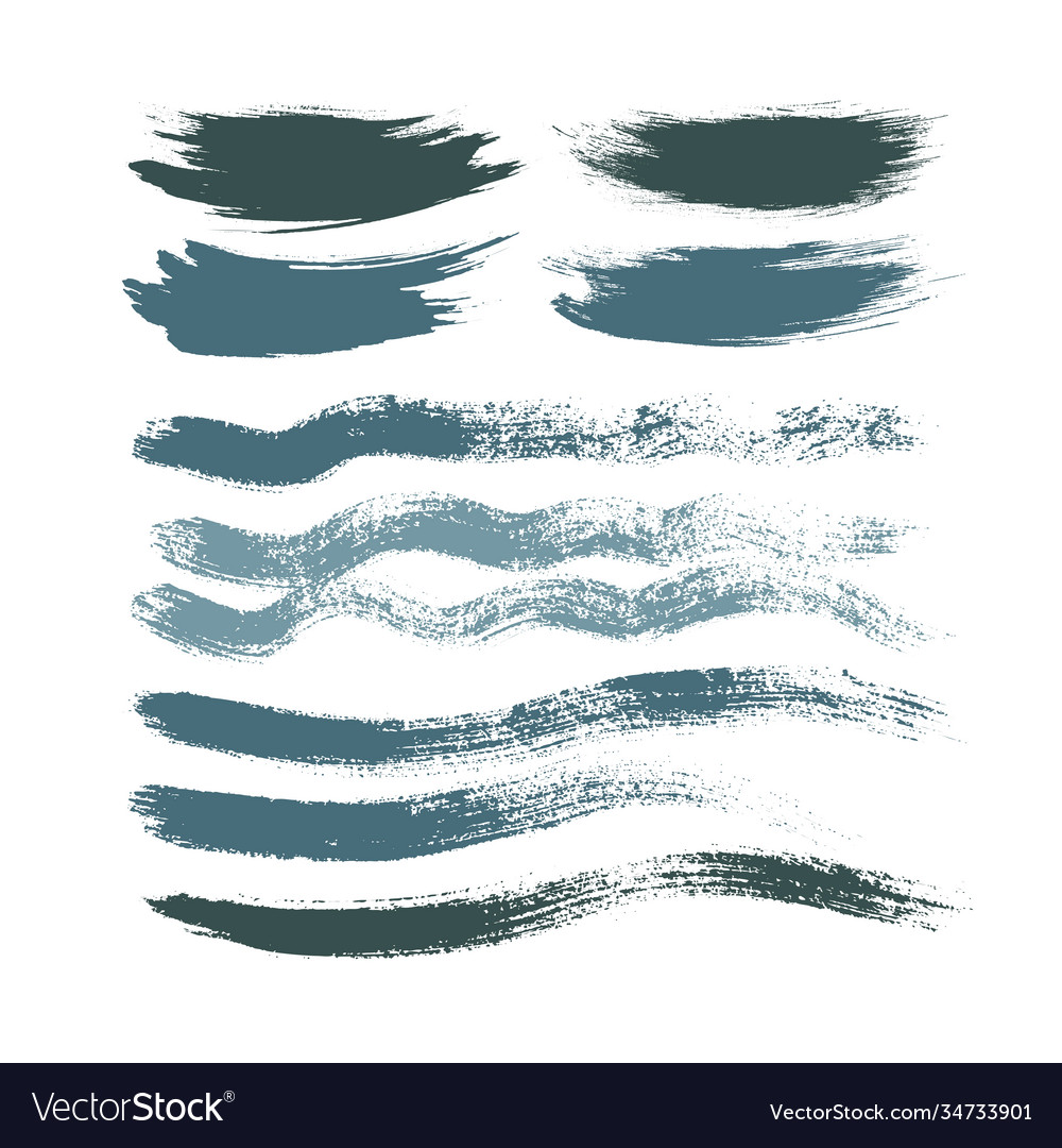 Stains brush strokes background for design cold