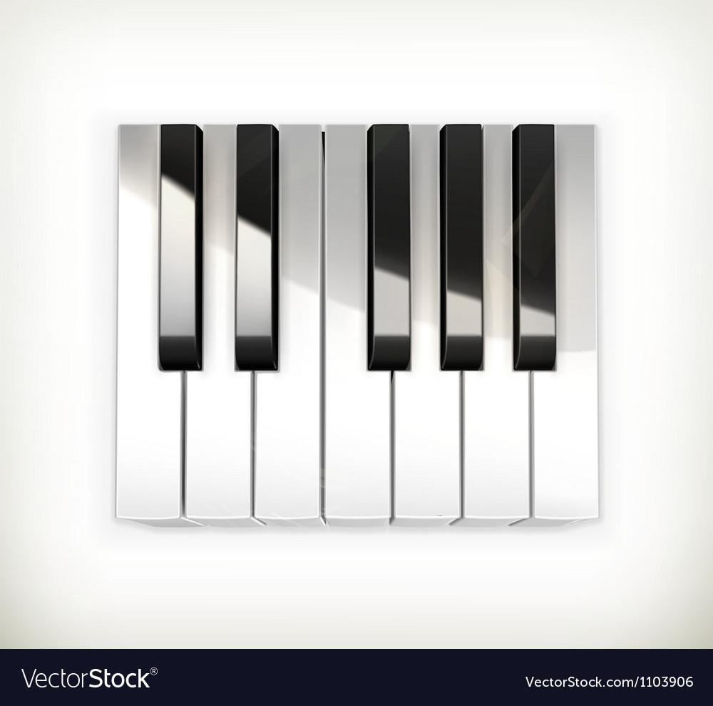 Octave piano keys