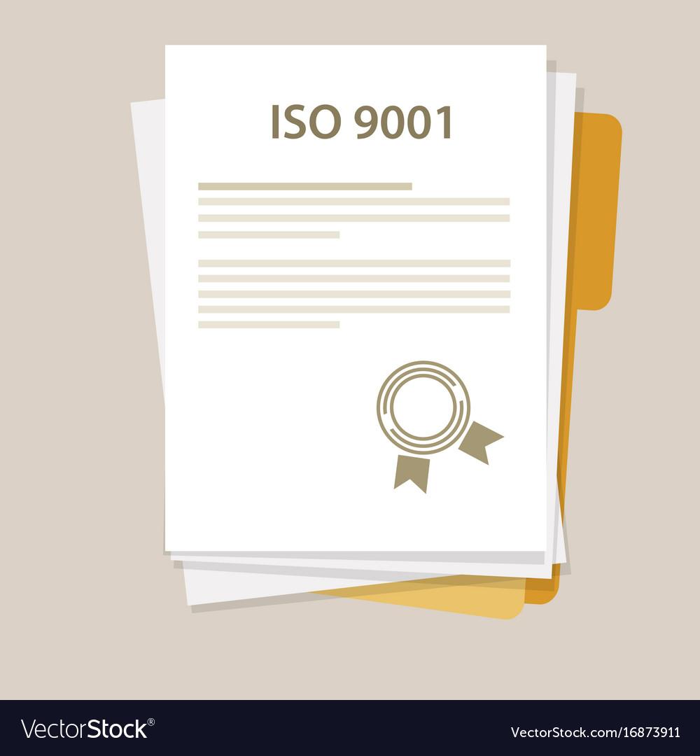 Iso 9001 International Standard Organization On