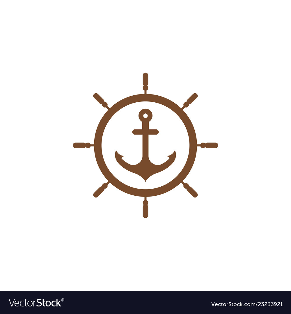 Anchor graphic design template
