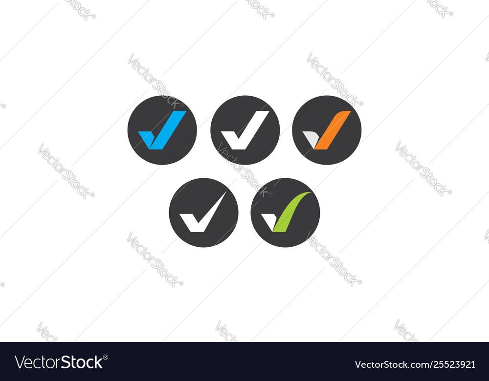 Check mark logo icon