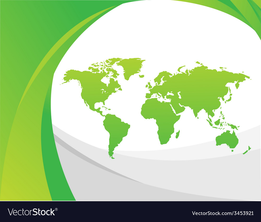 Geographical design vector image
