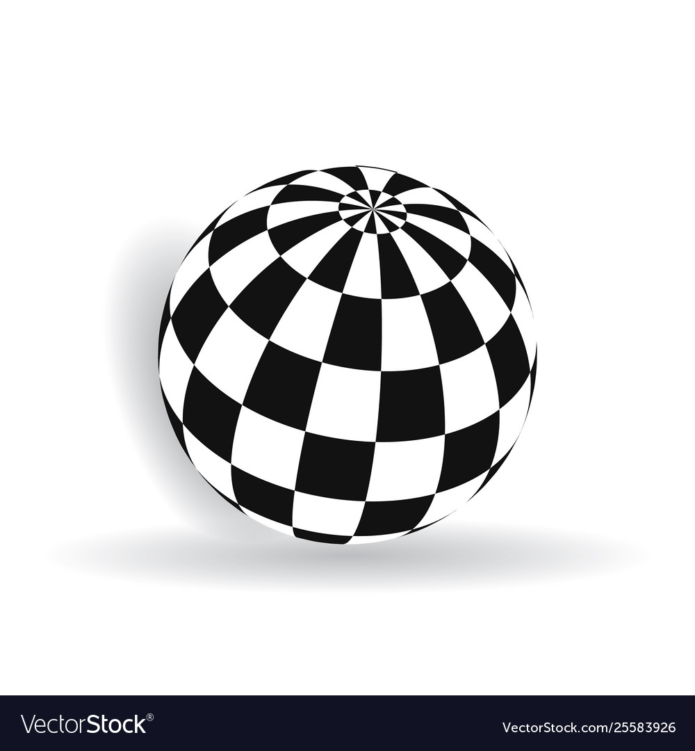 Ball with squares