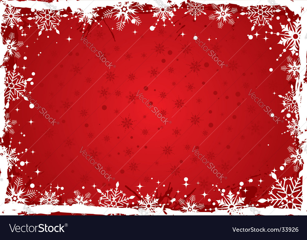 Christmas background boarder