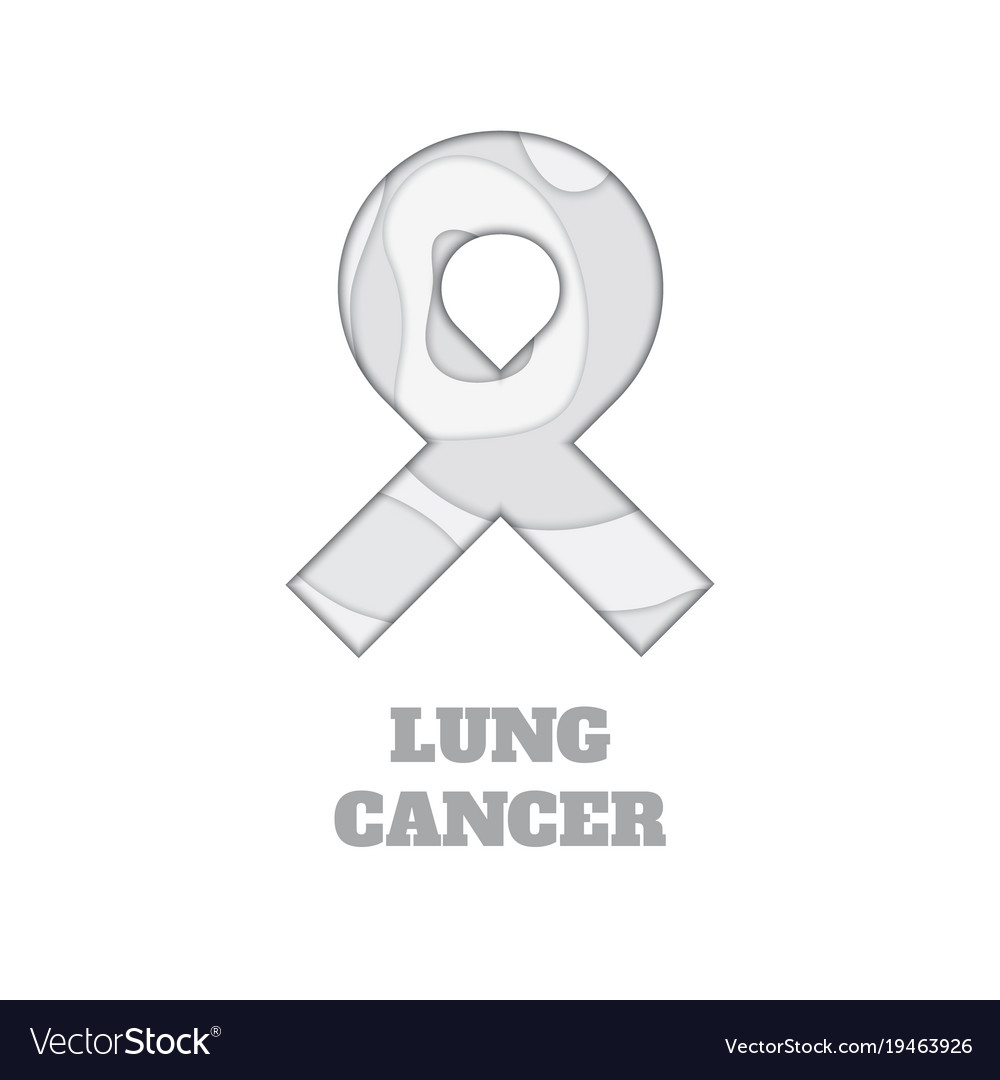 Lung Cancer Ribbon Vector Images 78