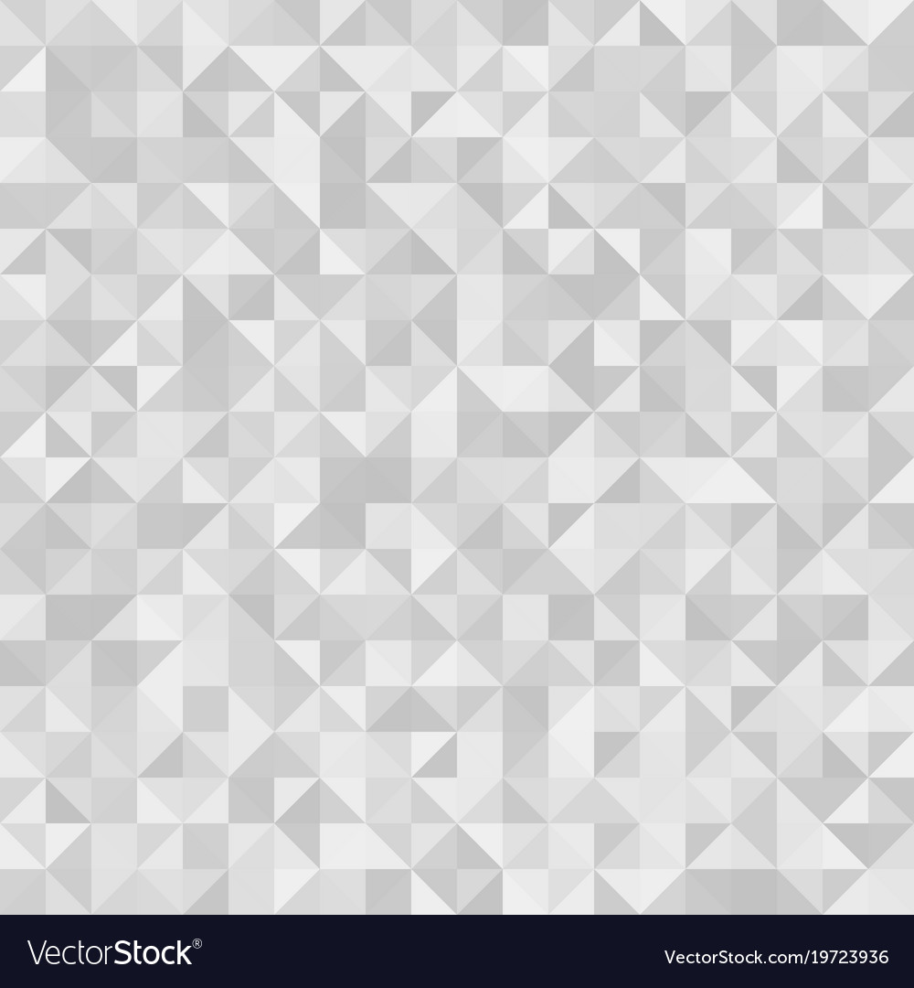Abstract background gray triangles vector image