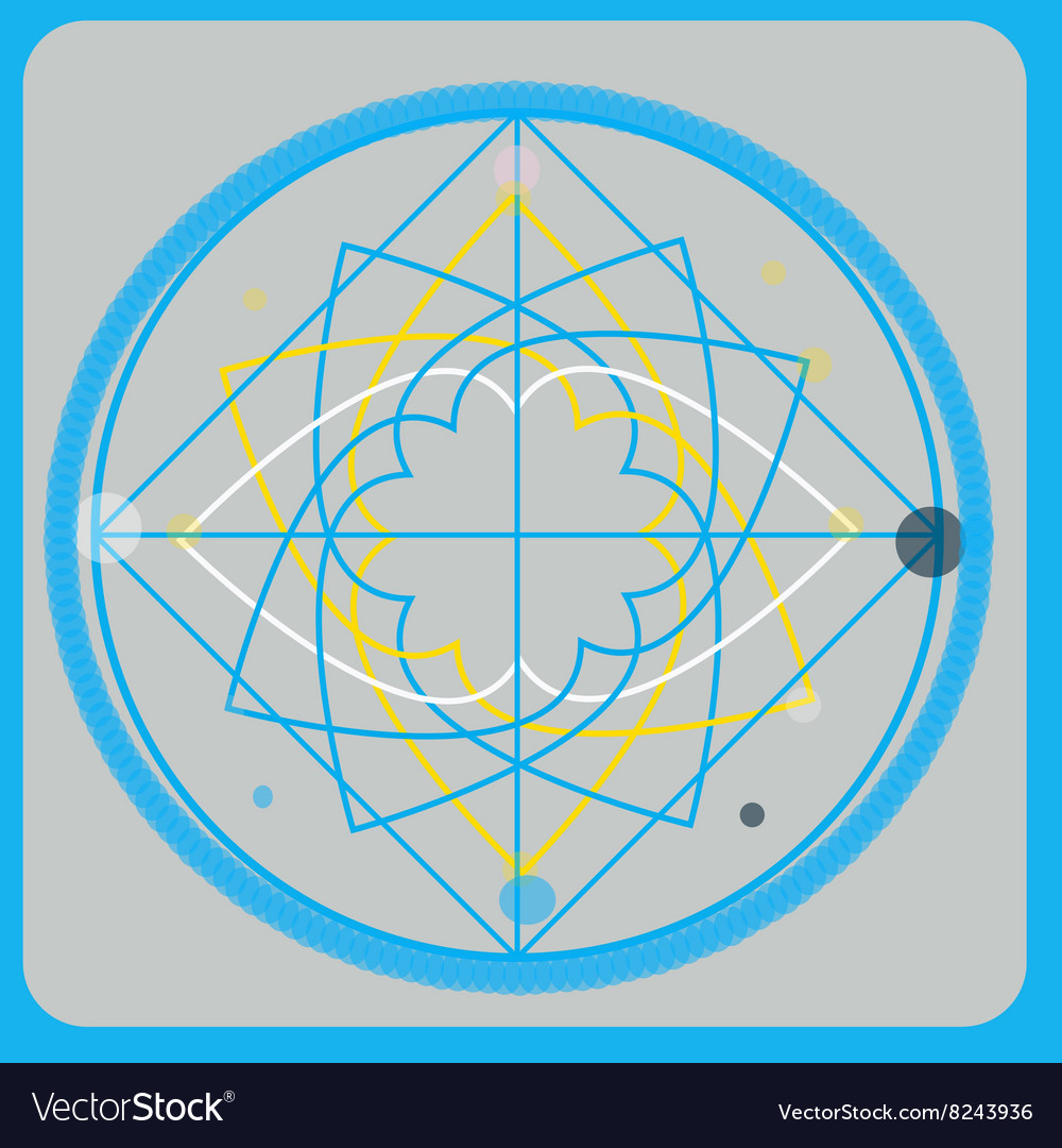 Sacred geometry design elements Alchemy