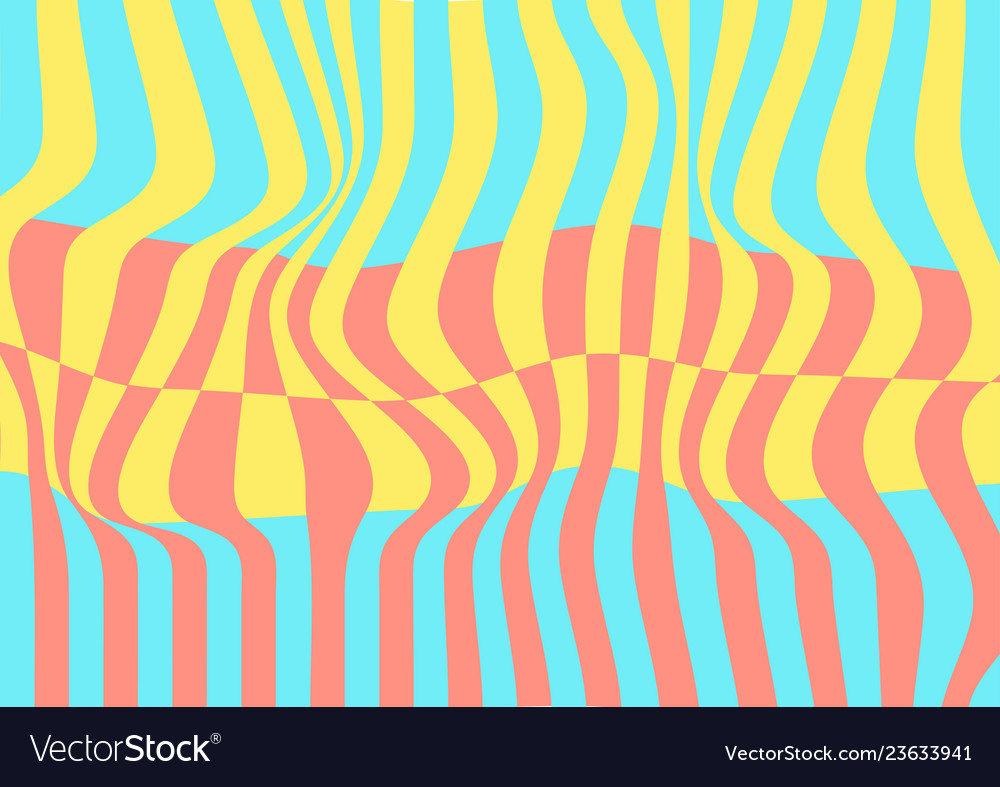 Abstract colourful pastel waves minimal pattern