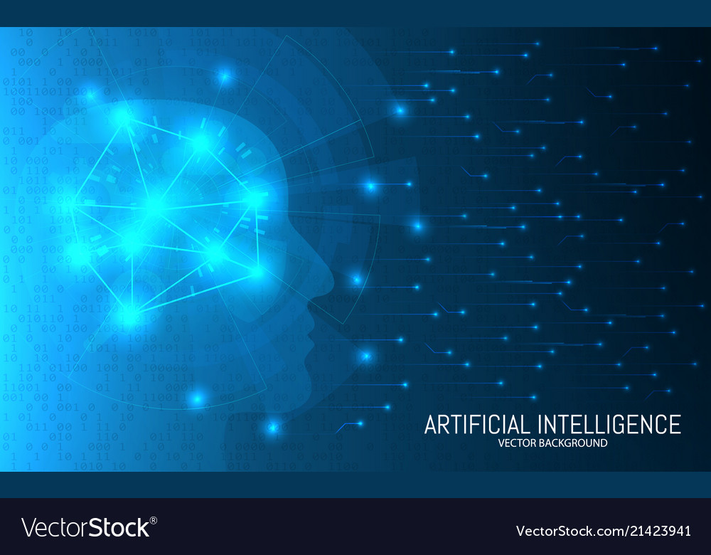 Artificial intelligence concept abstract