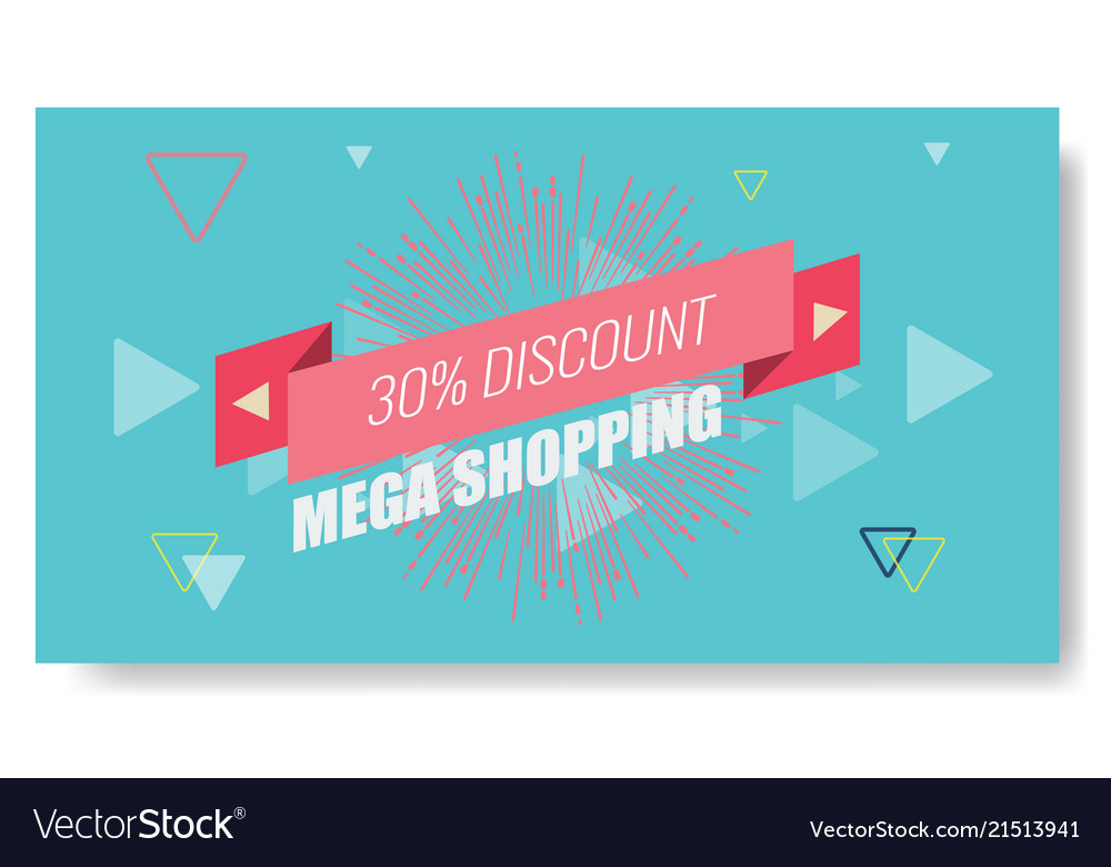 Creative abstract memphis banner or poster
