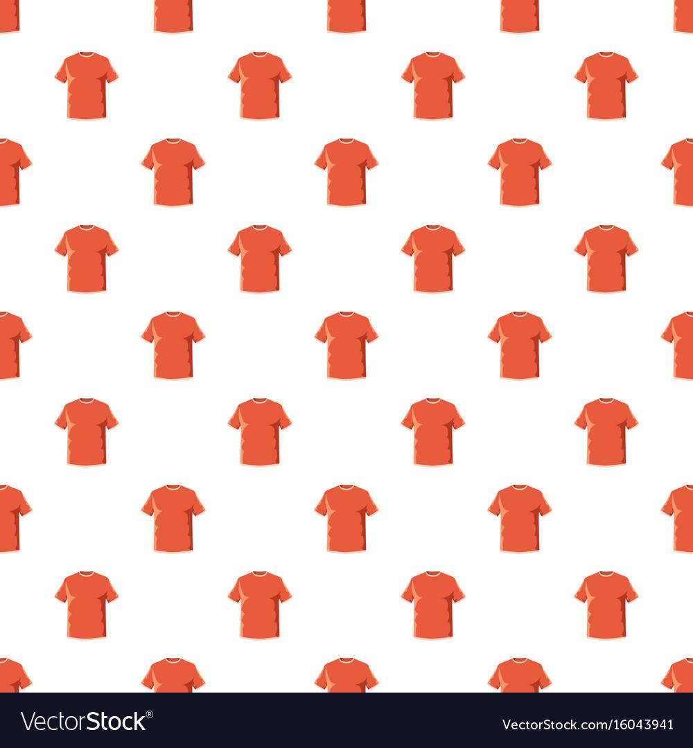Orange soccer shirt pattern