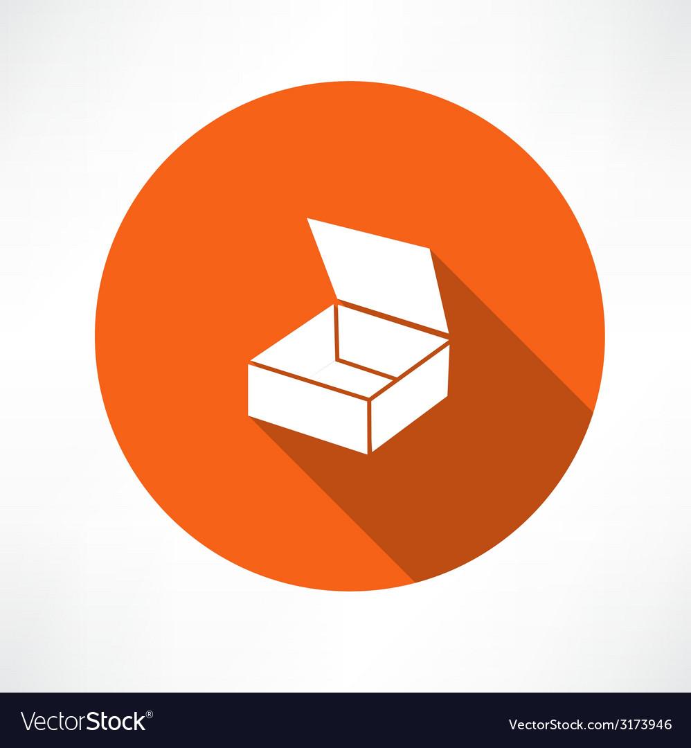 Empty box icon