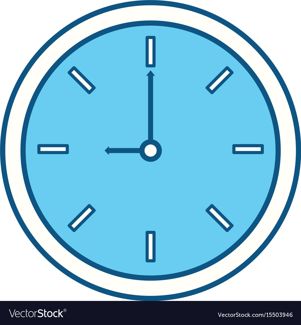 Isolated round clock