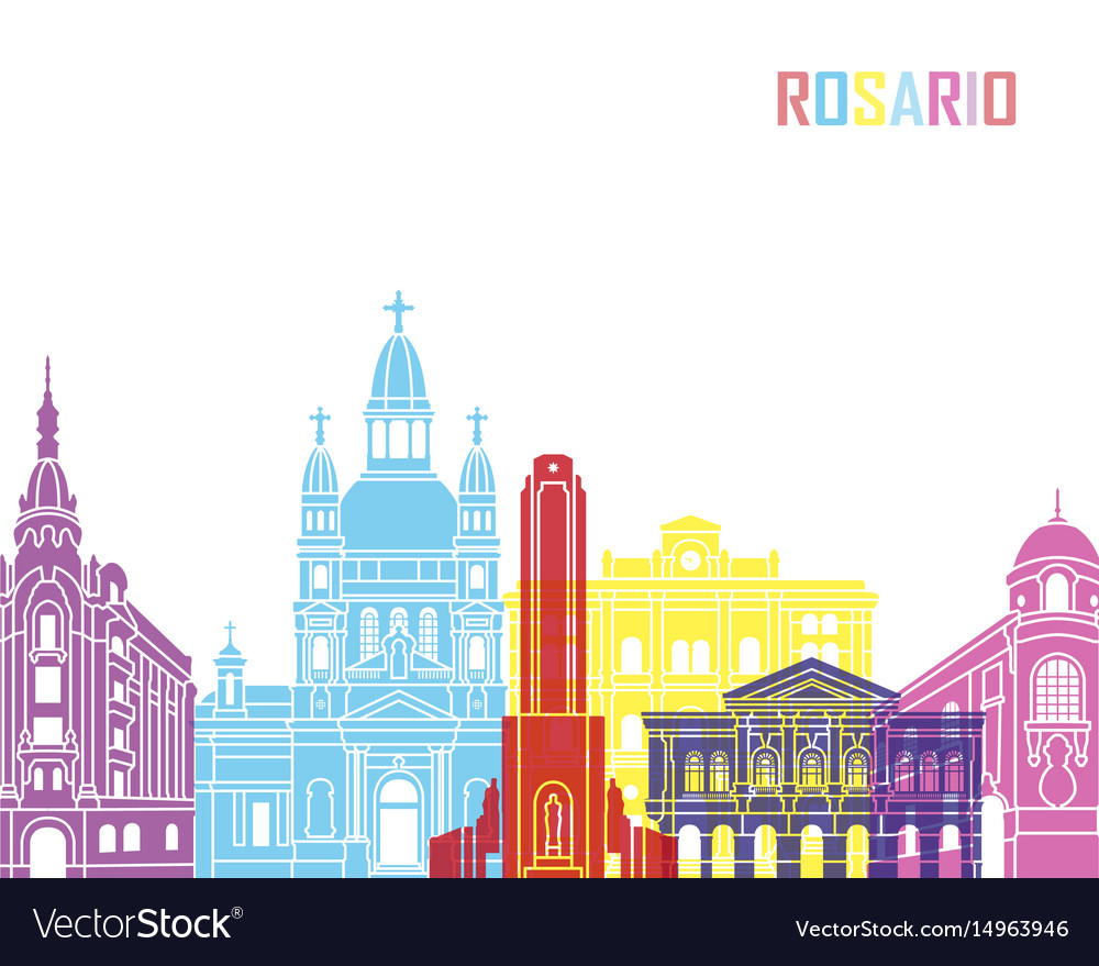 Rosario skyline pop