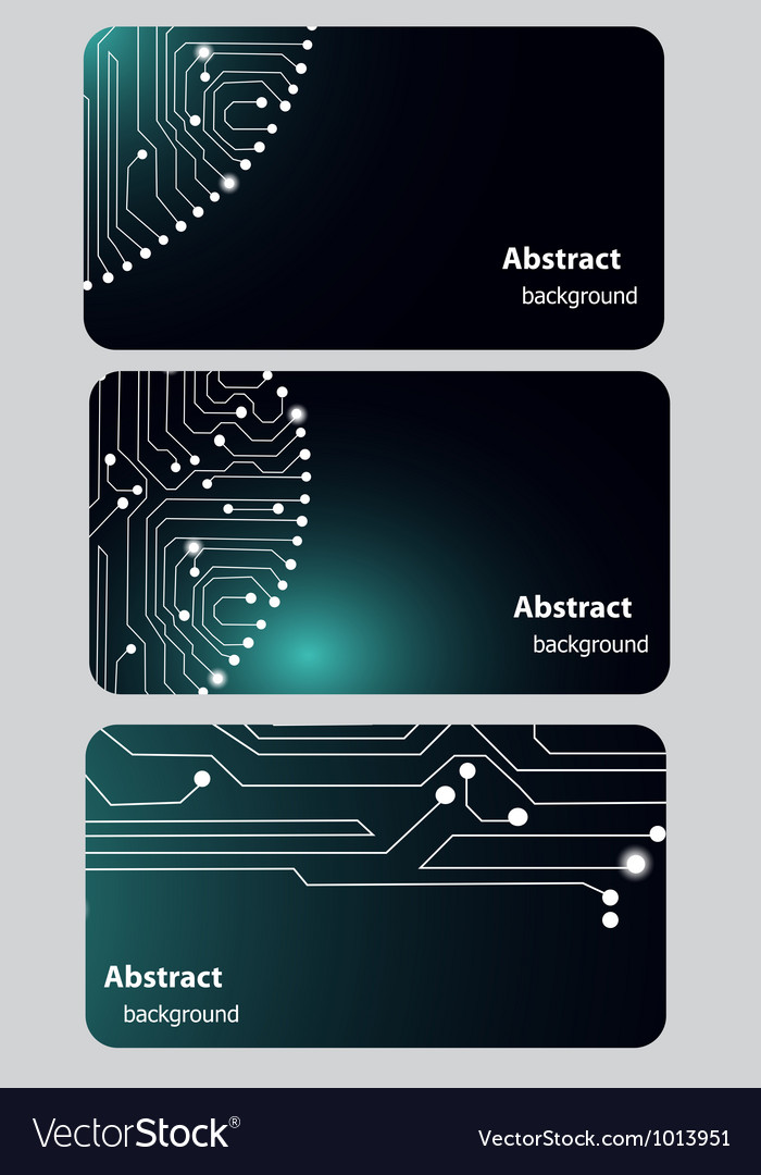 busitess card templates with circuit board vector image101 Circuit Board Free Font Download #14