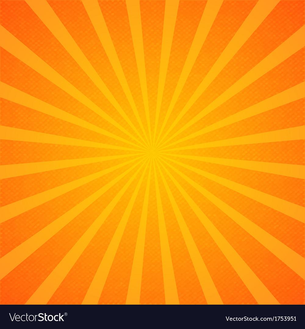 Sunburst background wallpaper vector image