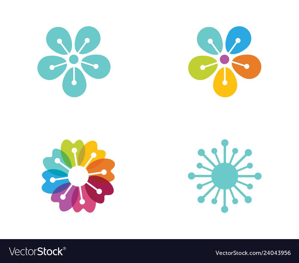 Flower icon design
