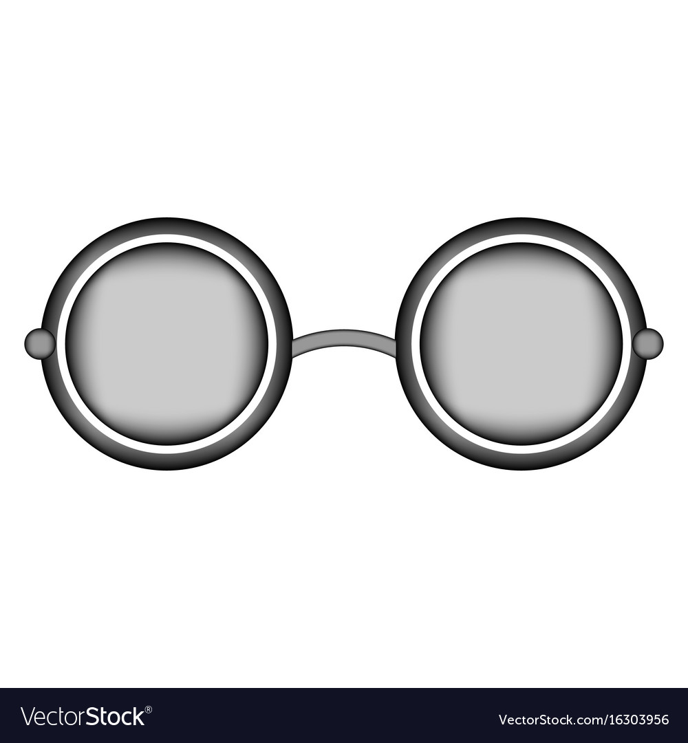 Glasses sign icon vector image