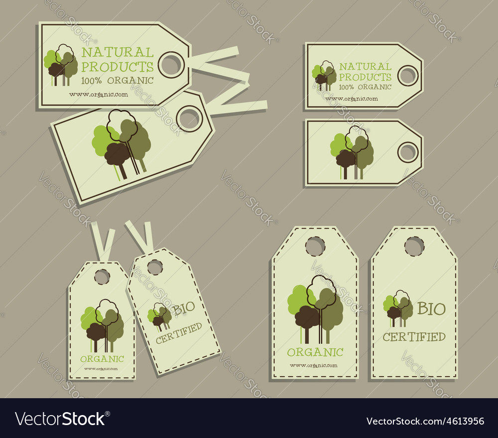 Set of Organic Labels for Natural Products