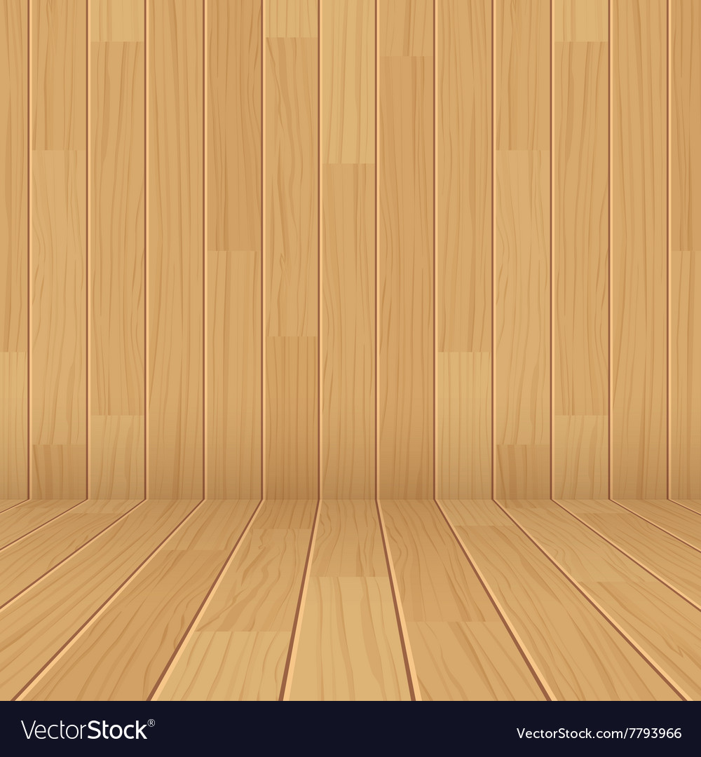 Wooden texture empty room background