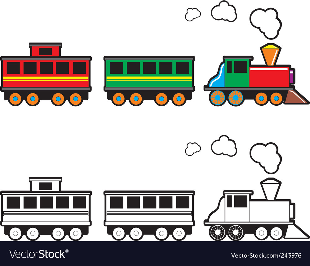 toy train royalty free vector image vectorstock rh vectorstock com train vector icon train vector classifier otb
