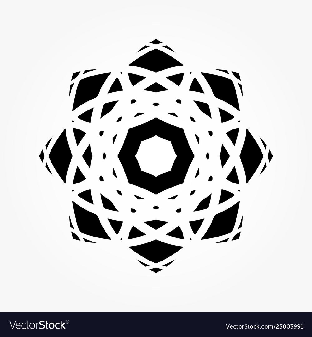 Abstract circular 0025