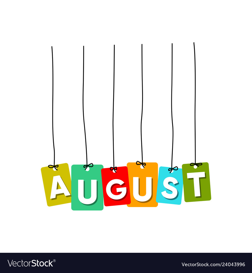 August word