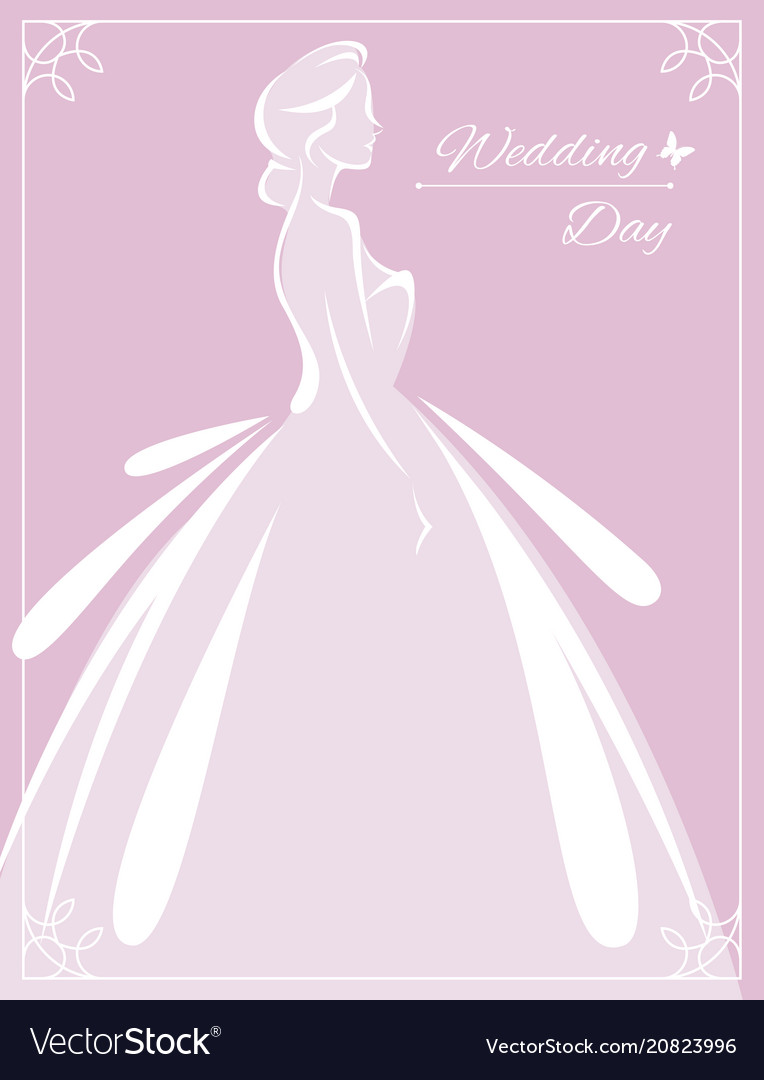 Flyer to the bride show silhouette