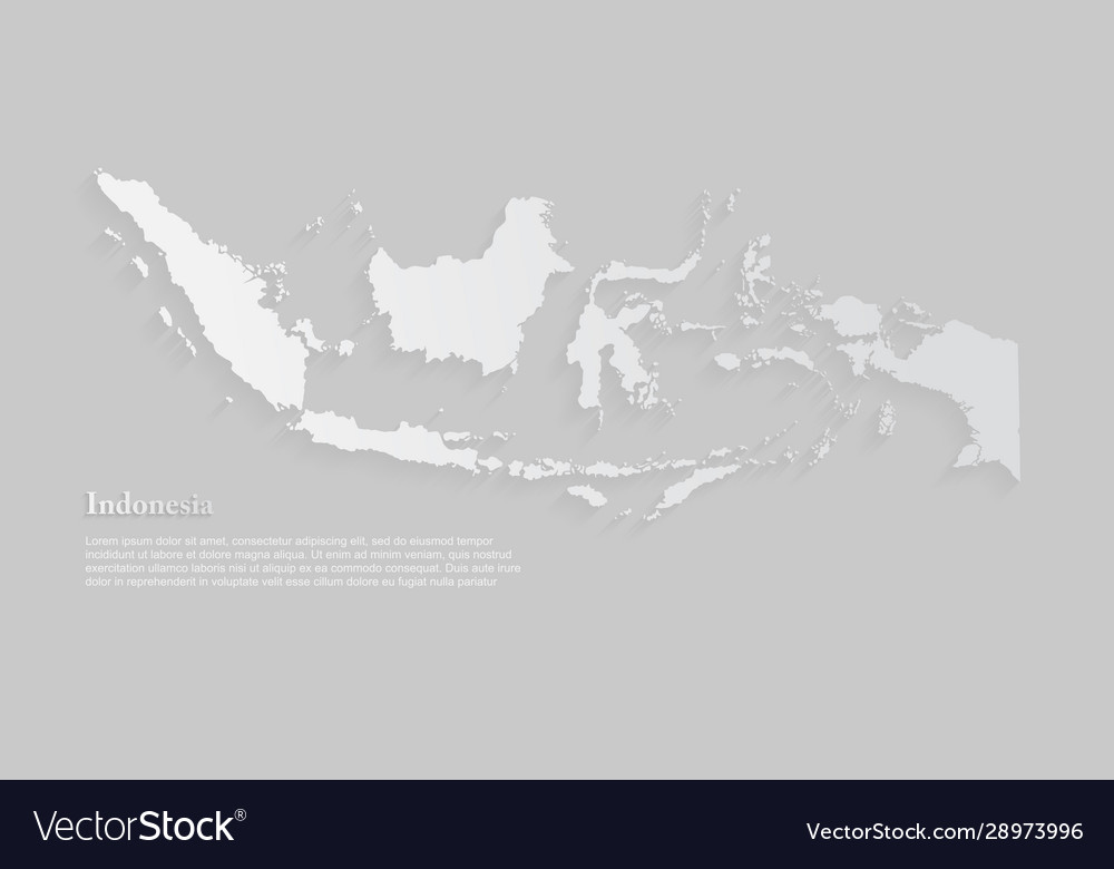 indonesia map asia country map template royalty free vector indonesia map asia country map template royalty free vector