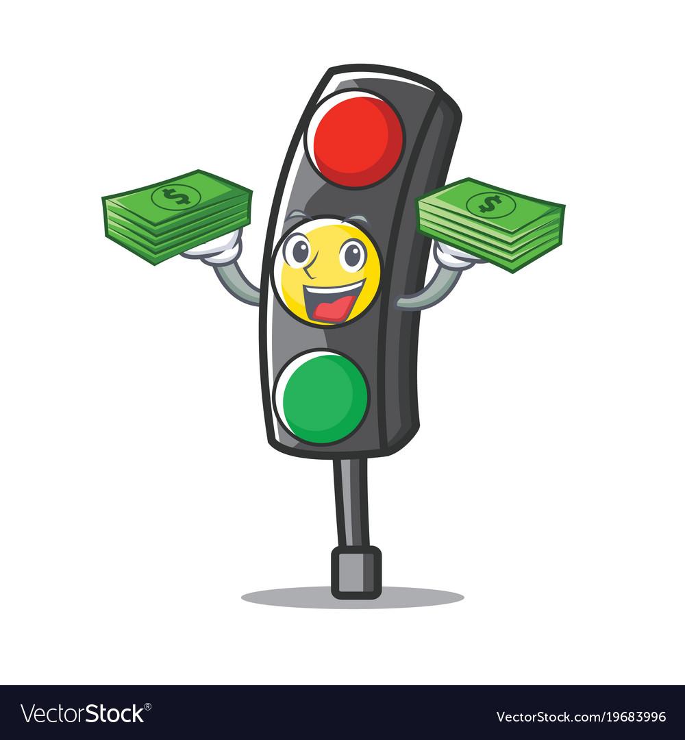 Картинка светофора мультяшного