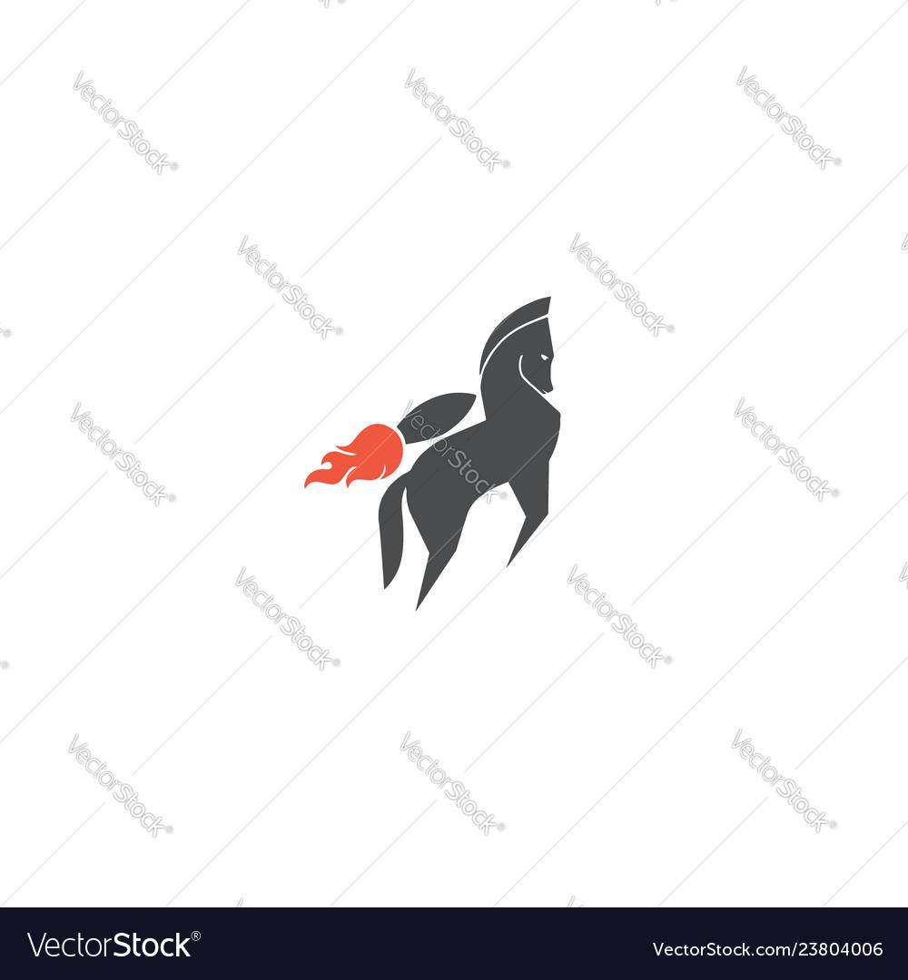 Rocket-horse-logo