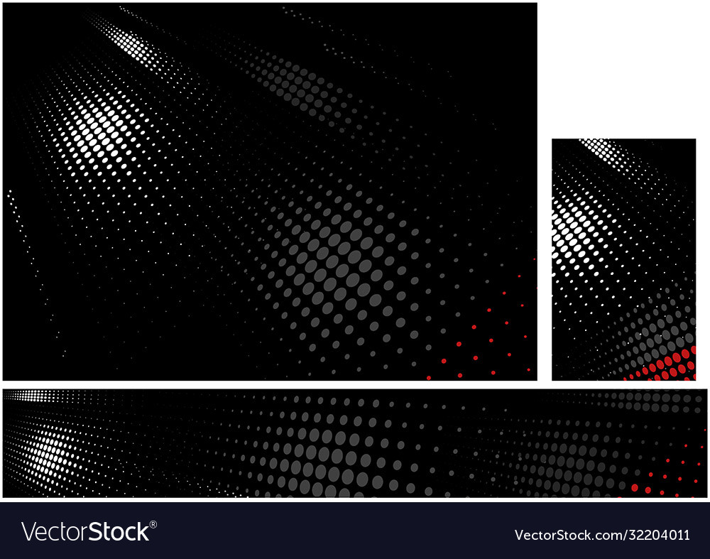 Black corporate backgrounds with halftone pattern