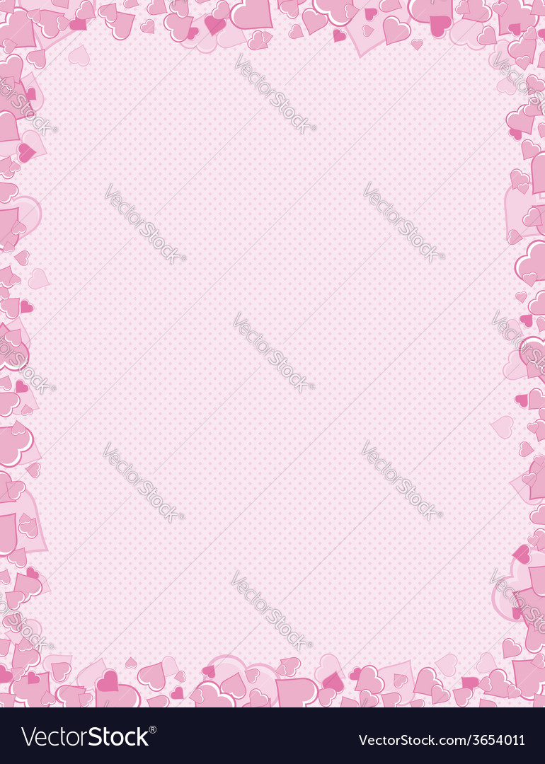 Pink background for valentines day