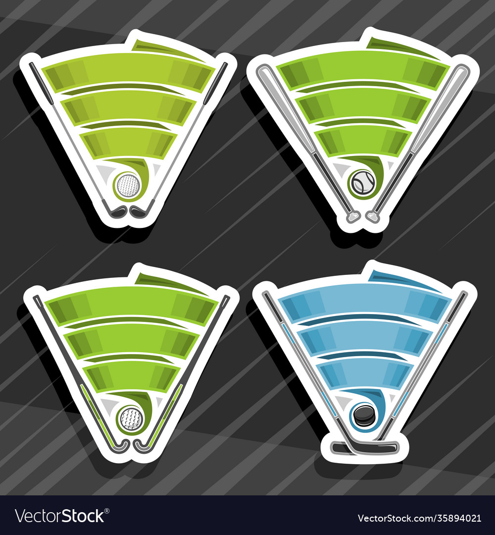 Set sports logos
