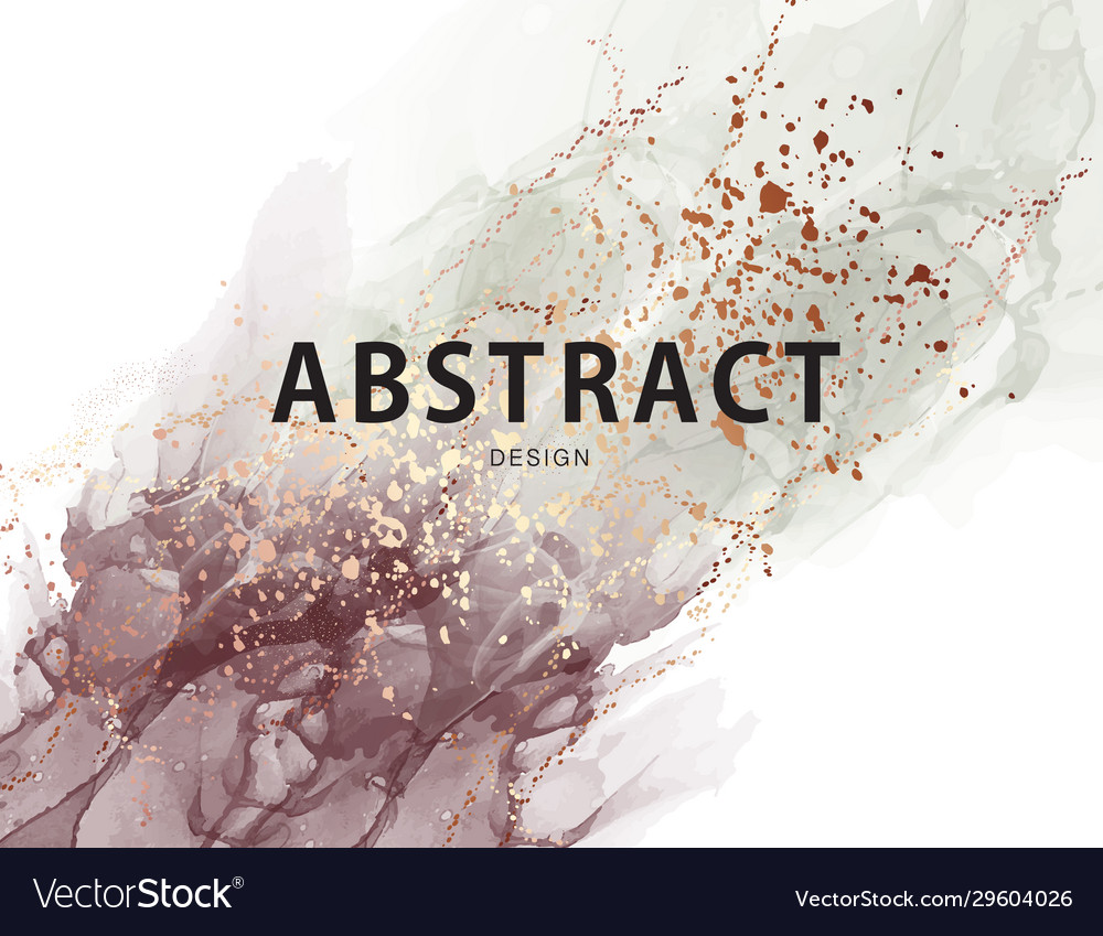 Abstract pastel neutral poster marble ink trendy