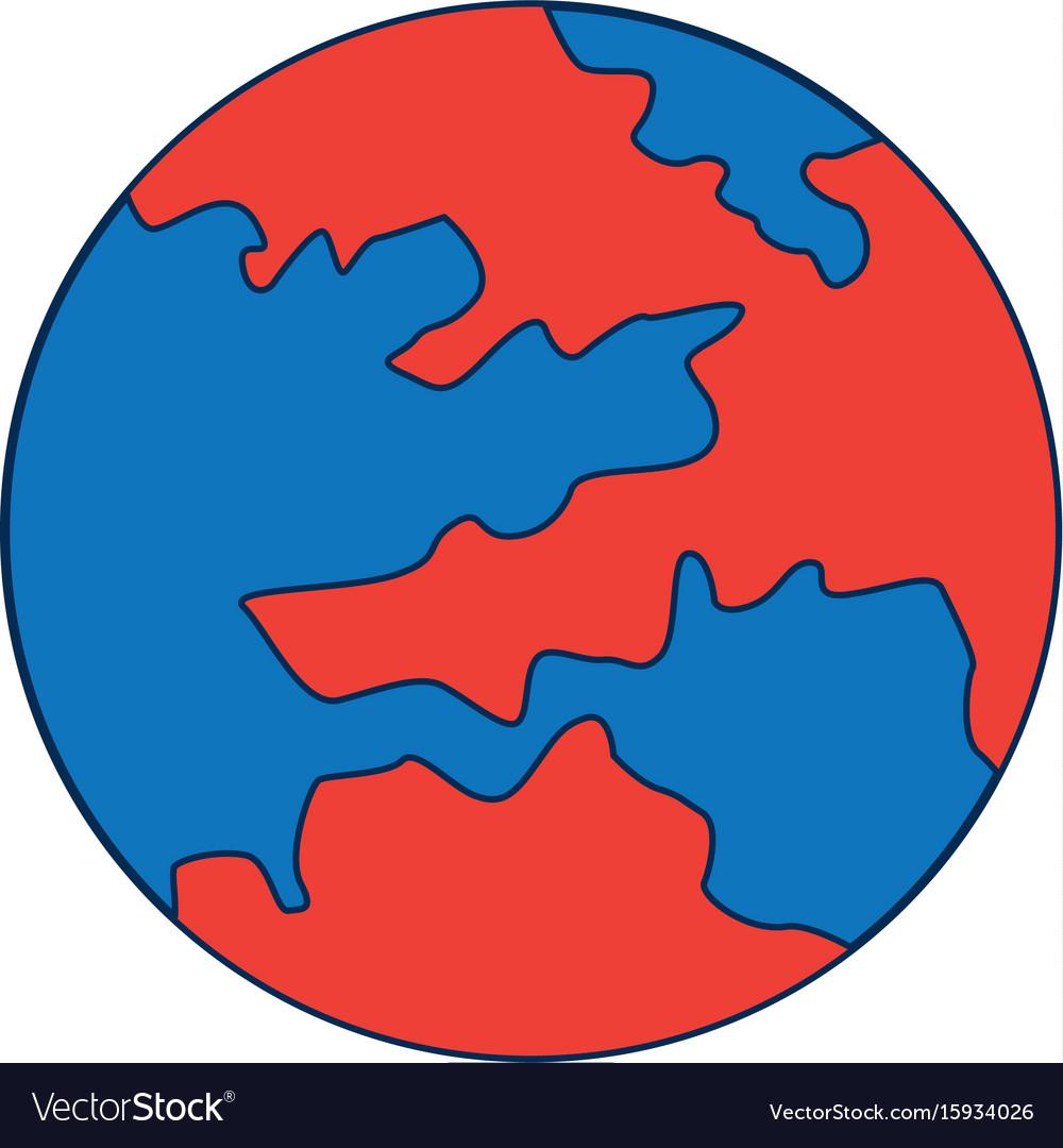 Map global world earth round icon royalty free vector image map global world earth round icon vector image publicscrutiny Choice Image