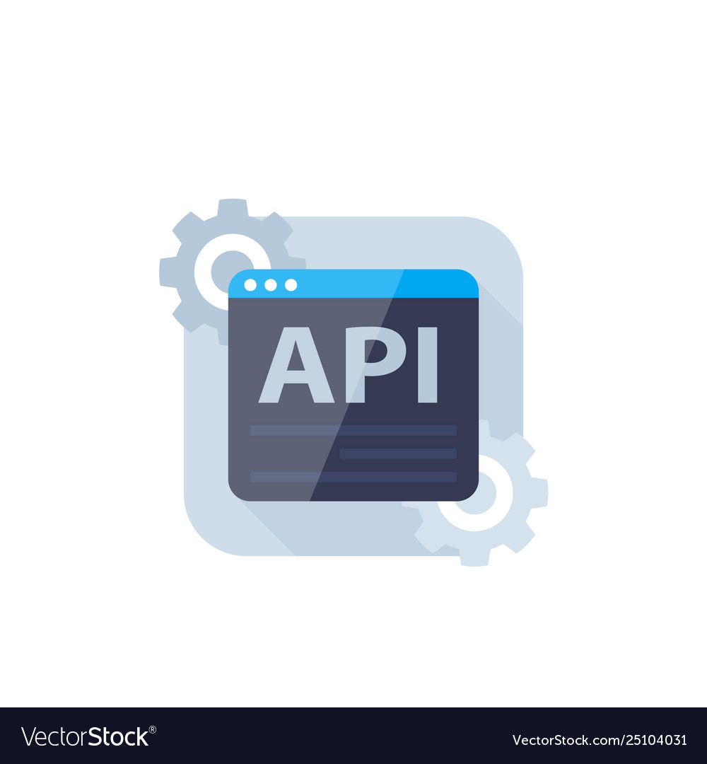 Api software integration icon