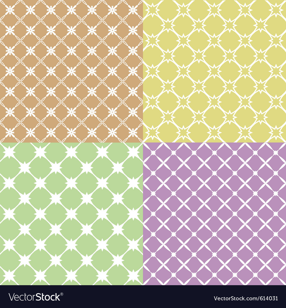 Geometric patterns vector image