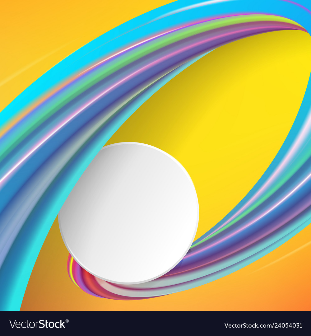 Modern abstract background with waves and lines