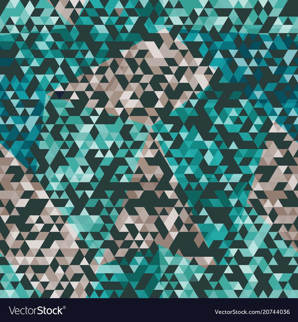 Urban triangle seamless pattern