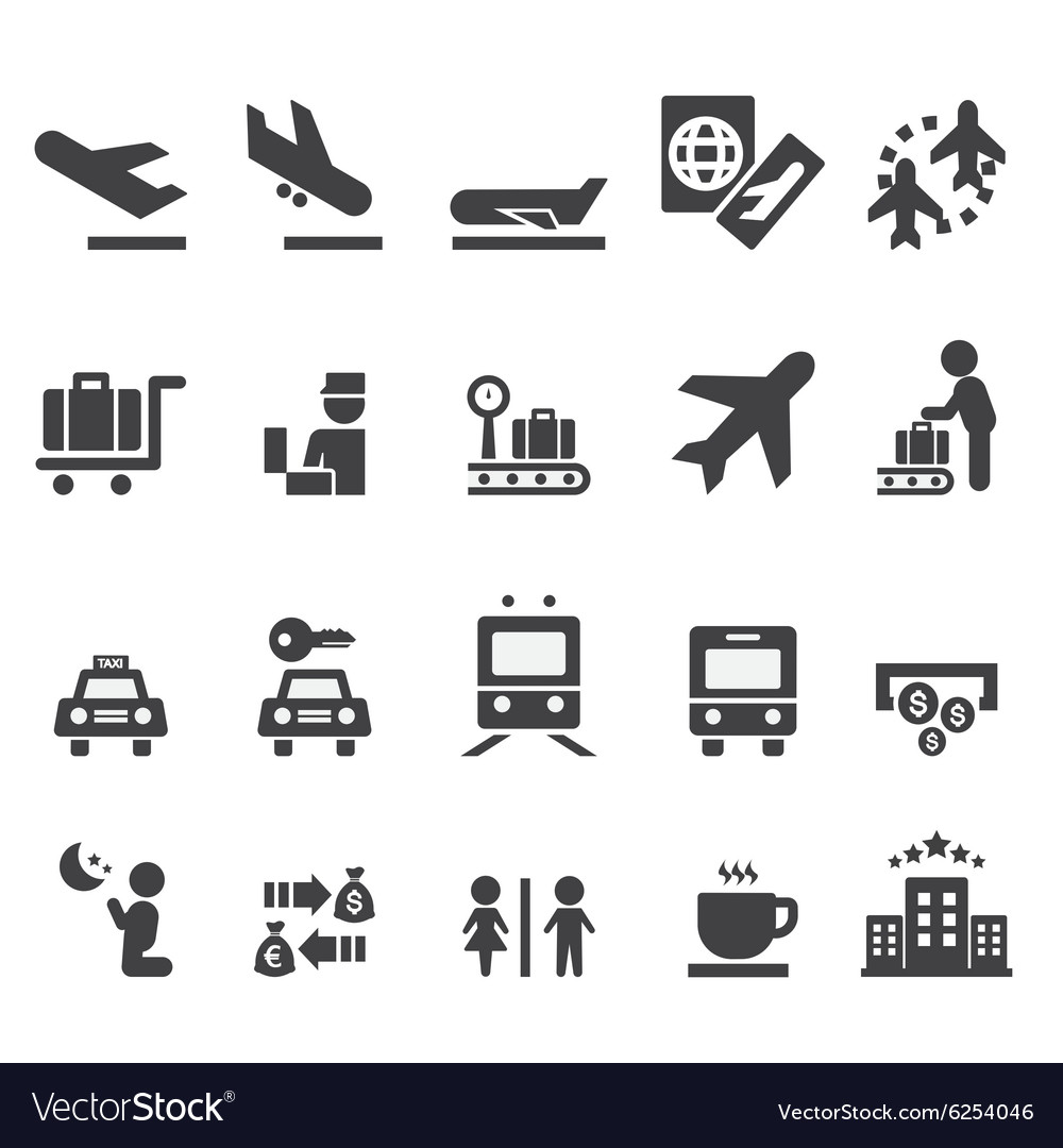 Aiport Icon Subway Map.Airport Icon