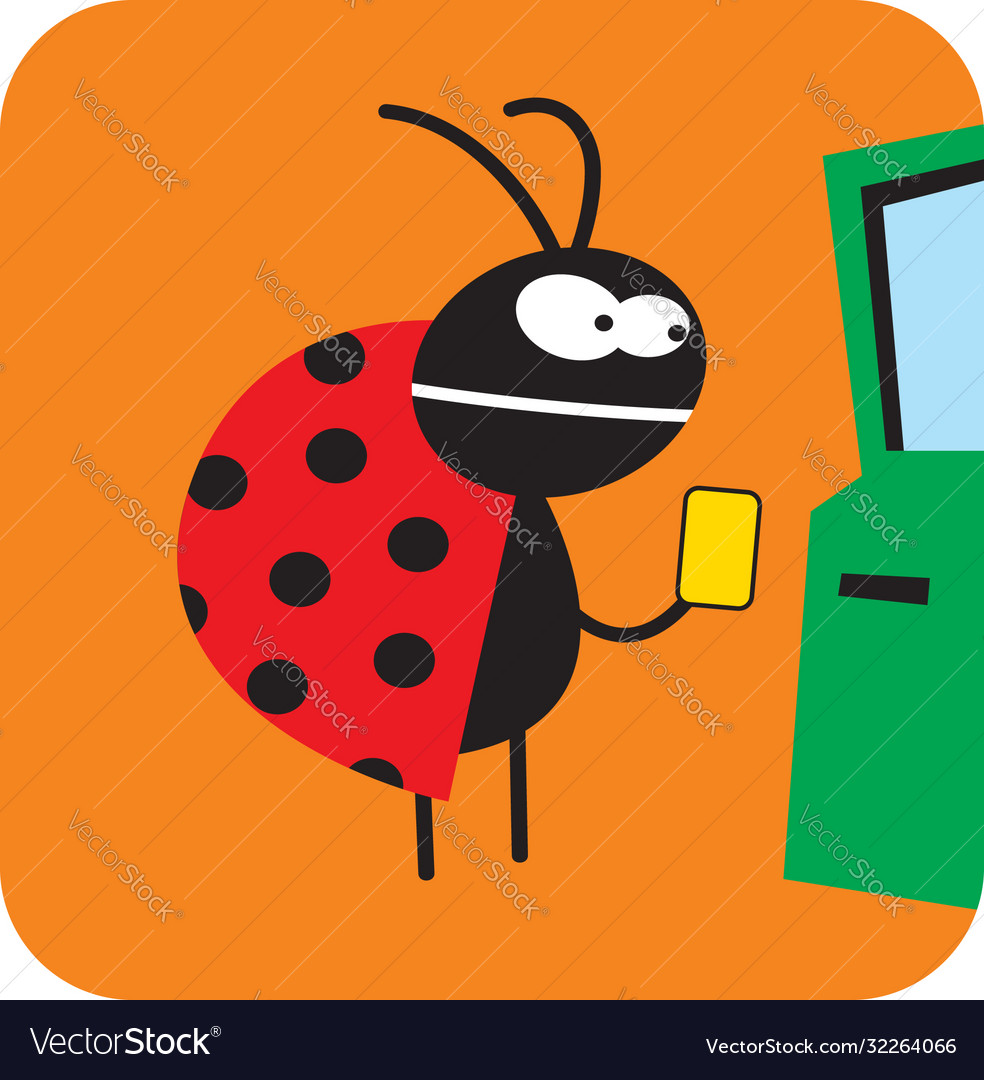 Beetle wants to get cash at an atm