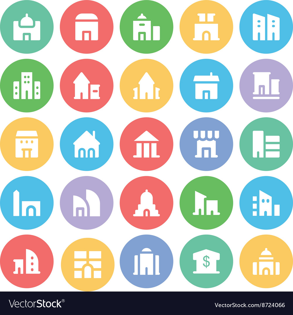 Building and Furniture Icons 2