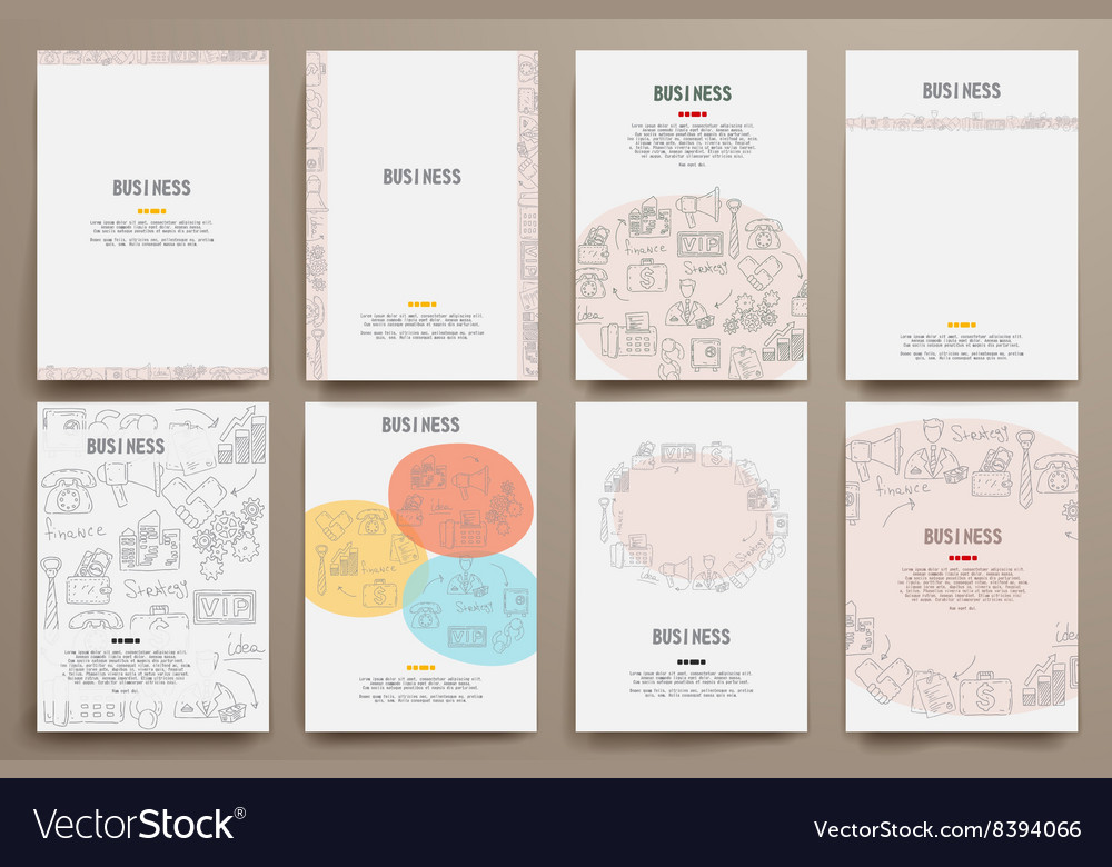 Design template blank booklets in graphics