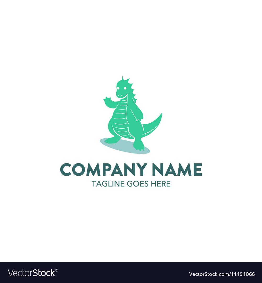 Dragon logo-19 vector image