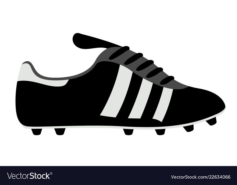361add0e387 Isolated soccer cleat Royalty Free Vector Image