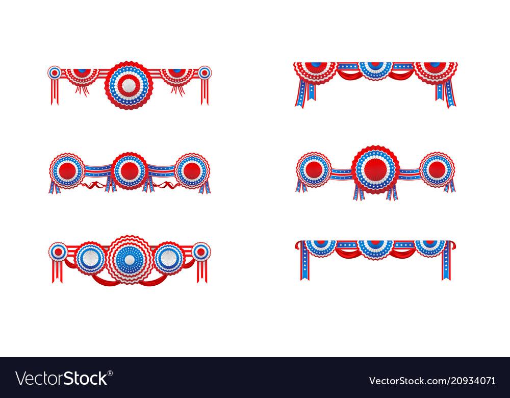 American decor set