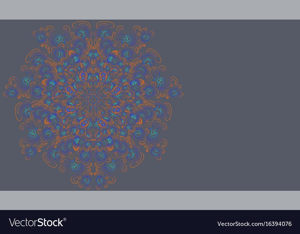 An ethno mandala