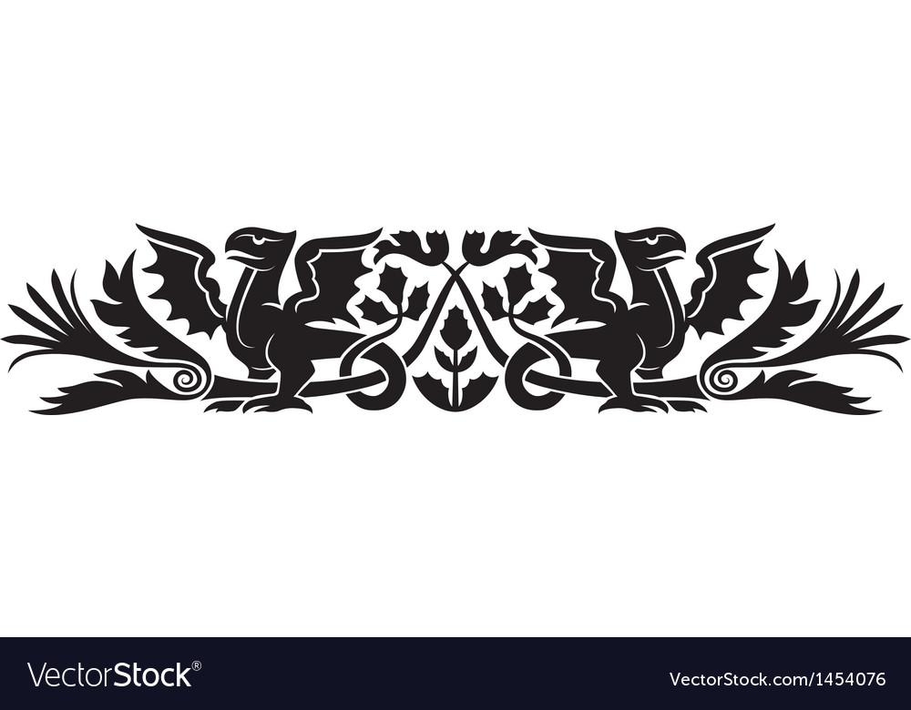 Medieval scotch pattern