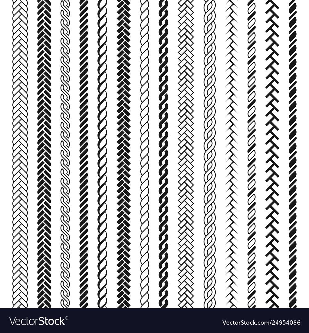 Ropes pattern brushes